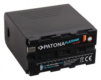 Acumulator Platinum tip Sony NP-F990 NP-F550 NP-F750 NP-F970 incl. Powerbank 5V/2A iesire USB Micro-USB