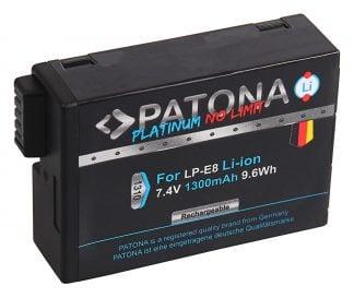Acumulator Platinum tip Canon LP-E8